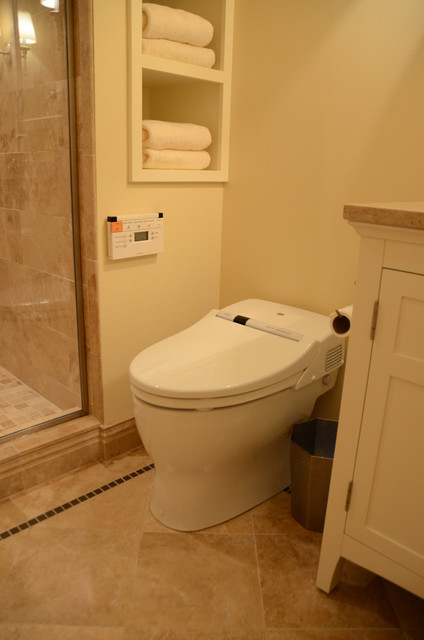 Toto Neorest Bathroom Traditional with Basement Bathroom Toto Neorest