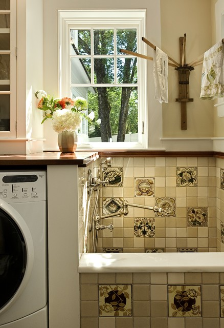 Towel Drying Rack Laundry Room Traditional with Bouquet Dog Shower Drying