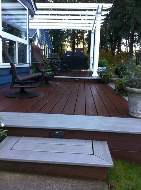 Trillium Construction Spaces with Barbeque Composite Decking Fire1