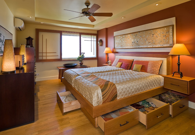 Twin Platform Bed with Storage Bedroom Asian with Asian Asian Print Asian
