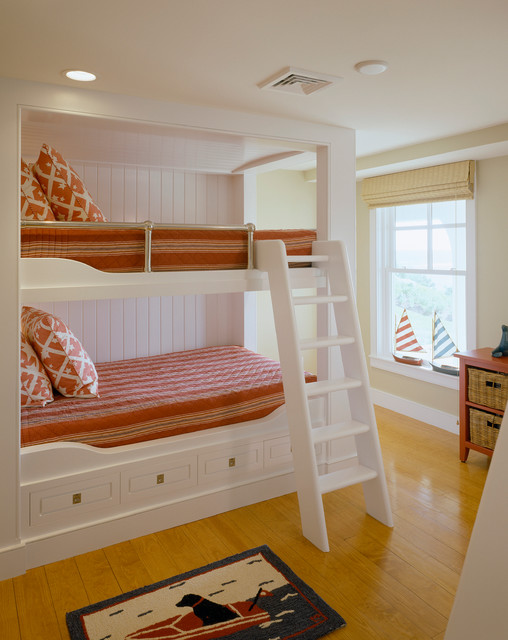 Underbed Drawers Bedroom Traditional with Beige Wall Beige Window