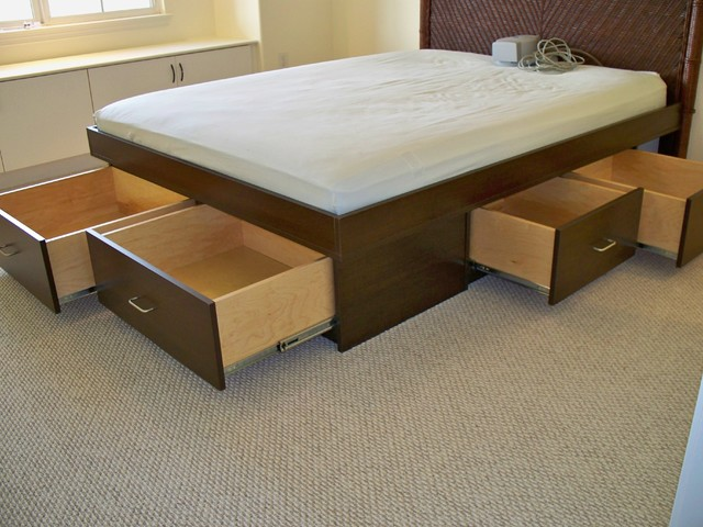 Underbed Storage Drawers Bedroom Traditional with Categorybedroomstyletraditionallocationhawaii