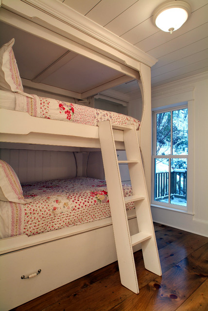 Underbed Storage Drawers Bedroom Traditional with Bunk Beds Ladder To