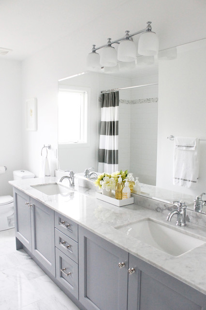 undermount bathroom sinks Bathroom Traditional with Benjamin Moore Chantilly Lace