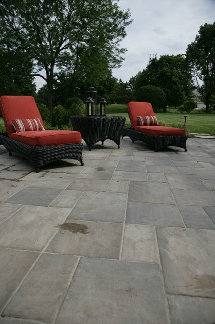 unilock pavers Patio Traditional with Brick Paver Patio brick