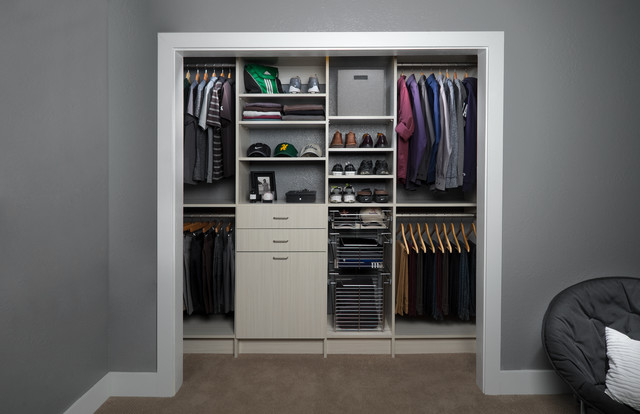 Walk in Closet Organizers Closet Contemporary with Arctic Closet Organizers Closet3