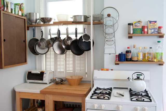 Wall Mounted Coat Rack Kitchen Eclectic with Apartment Cooking Storage Hanging