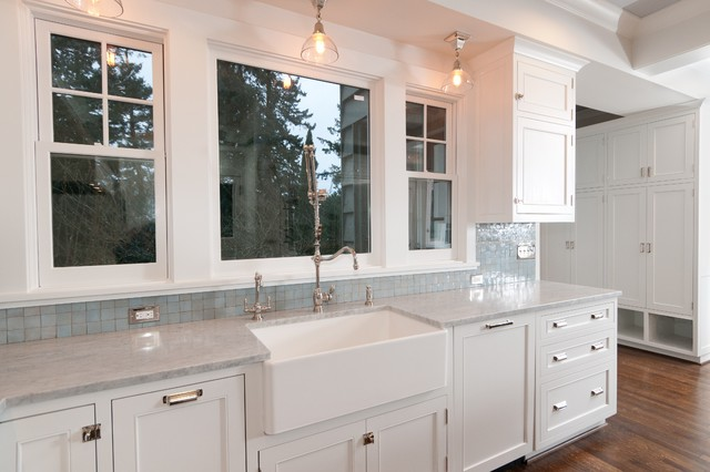 Waterstone Faucets Kitchen Traditional with Apron Front Sink Ceiling