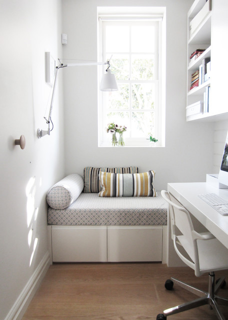 White Daybed with Trundle Home Office Contemporary with Cottage Daybeds Light Colors