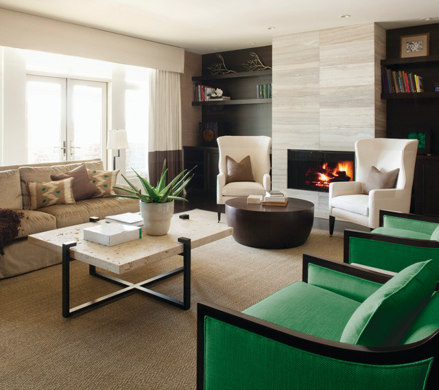 Wingback Chairs Living Room Contemporary with Beige Armchair Beige Ceiling
