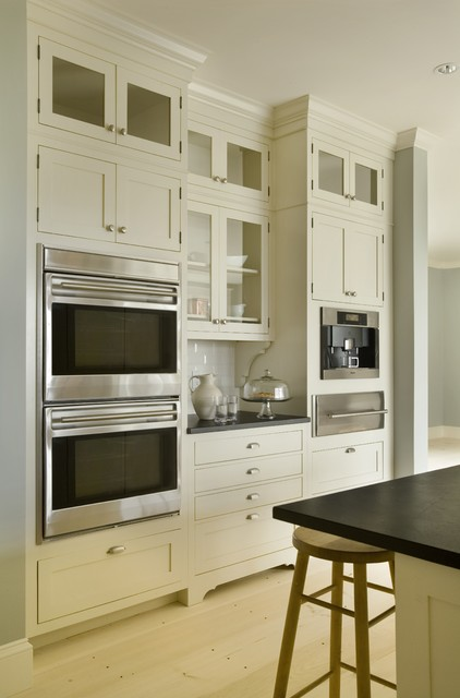 Wood Mode Cabinets Kitchen Contemporary with Frame and Panel Cabinets1
