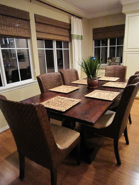 Woven Placemats Dining Room Tropical with Categorydining Roomstyletropicallocationother Metro