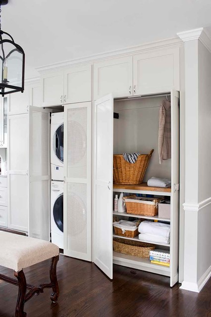Woven Storage Baskets Kitchen Transitional with Classic Custom Cabinets Custom