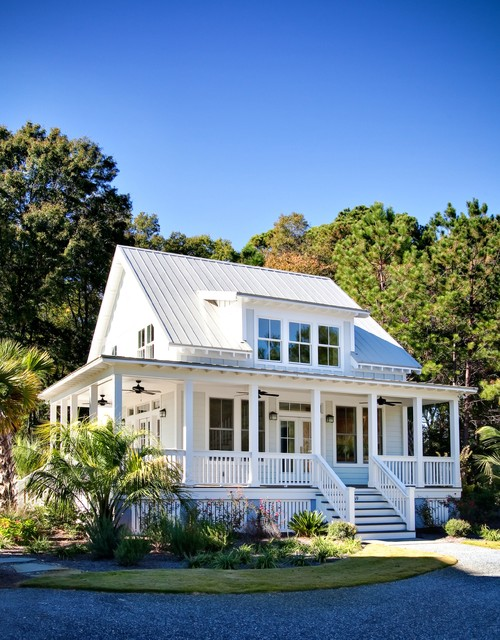 wrap-around-porch-house-plans-Exterior-Farmhouse-with-board-and ...