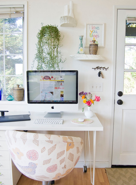 Writing Desk with Drawers Home Office Farmhouse with Bloggers Office Casters Computer