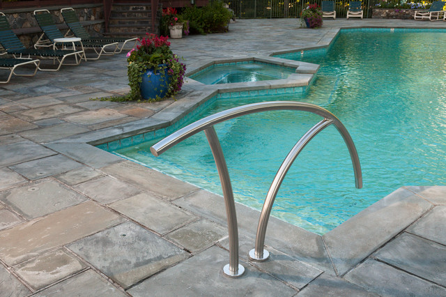 Wrought Iron Stair Railing Poolwith Categorypool