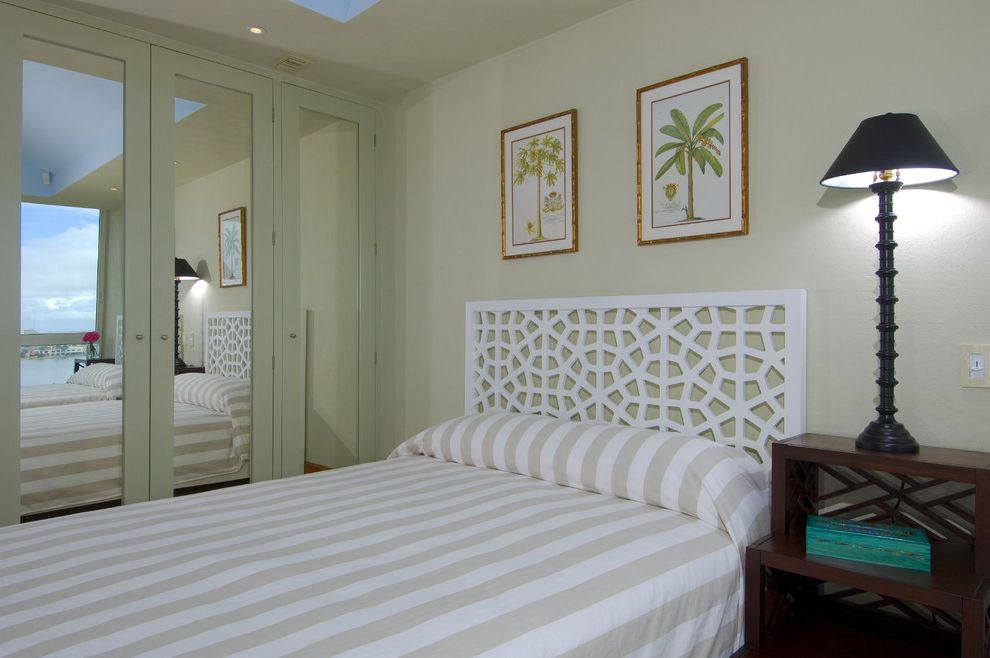 Allen Roth Closet  for Tropical Bedroom and Bedside Table