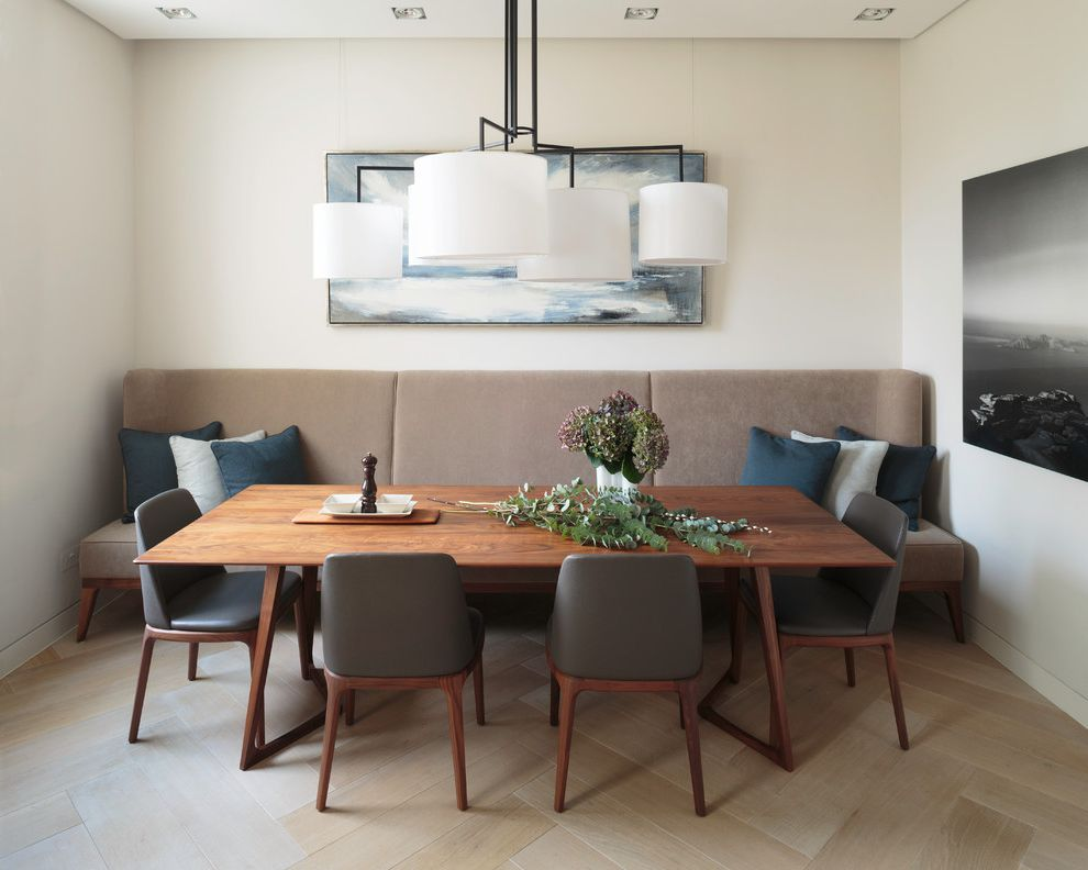 Buy Scandinavian Banquette Dining  for Contemporary Dining Room and Contemporary