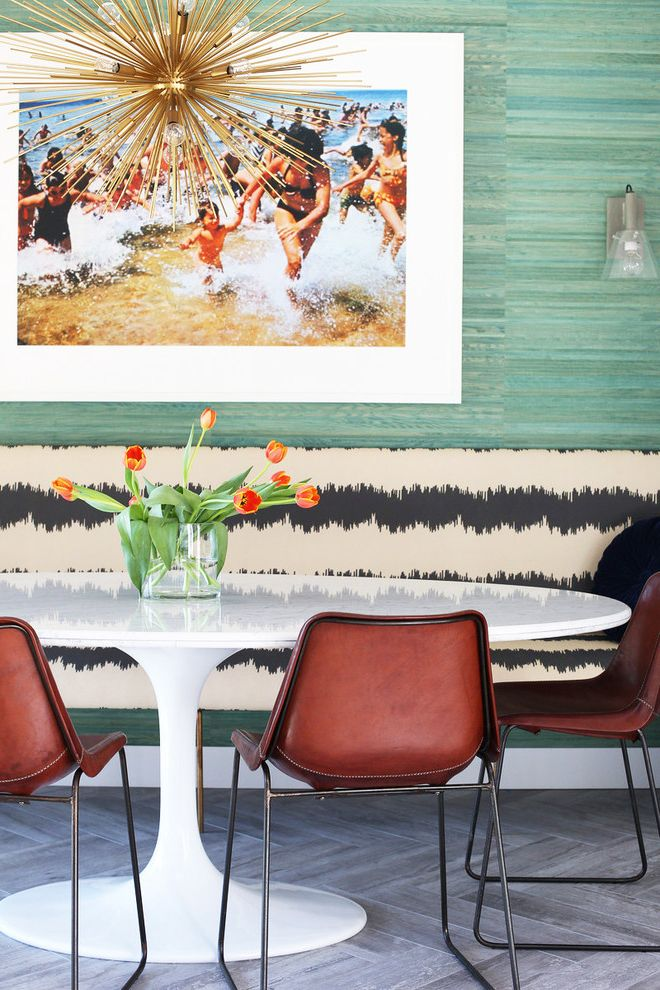 Buy Scandinavian Banquette Dining  for Midcentury Dining Room and Bright