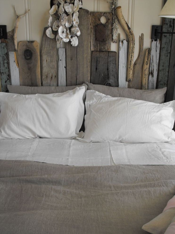 Coastal Chic Headboard  for Rustic Bedroom and Diy