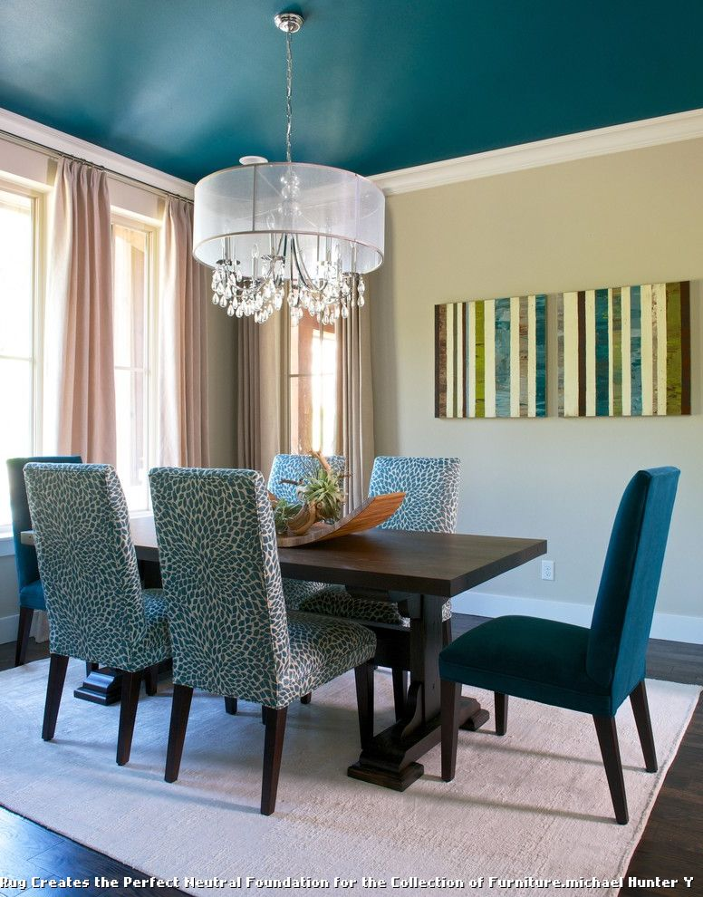 Dining Room Chairs From Robb and Stucky for Transitional Dining Room and High Efficiency Home