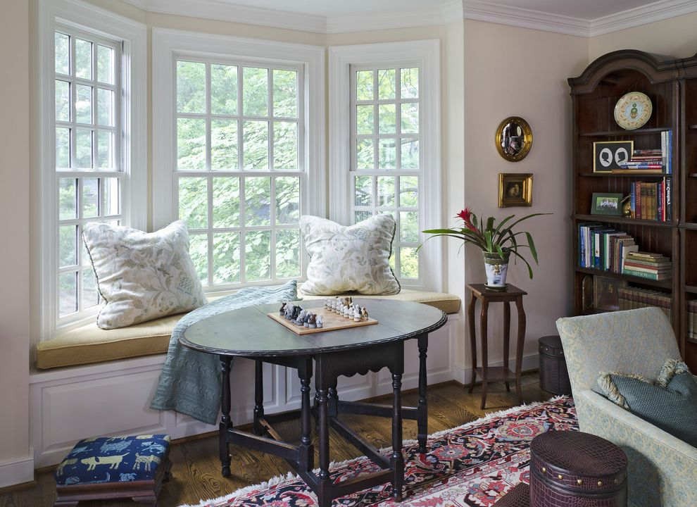 Drop Leaf Table Living Room  for Victorian Family Room and Dark Stained Wood