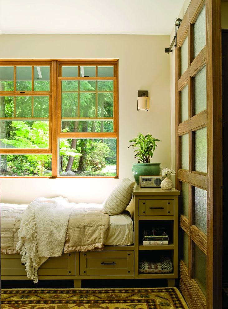 Funky Ideas for Twins Day  for Traditional Bedroom and Wood Window Trim