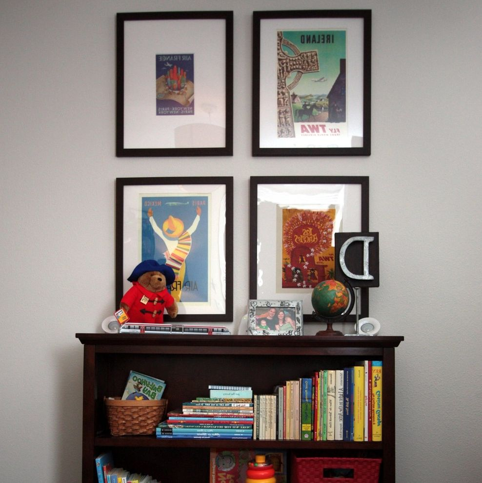 Kids Queen Frame  for Traditional Kids and Vintage Travel Posters