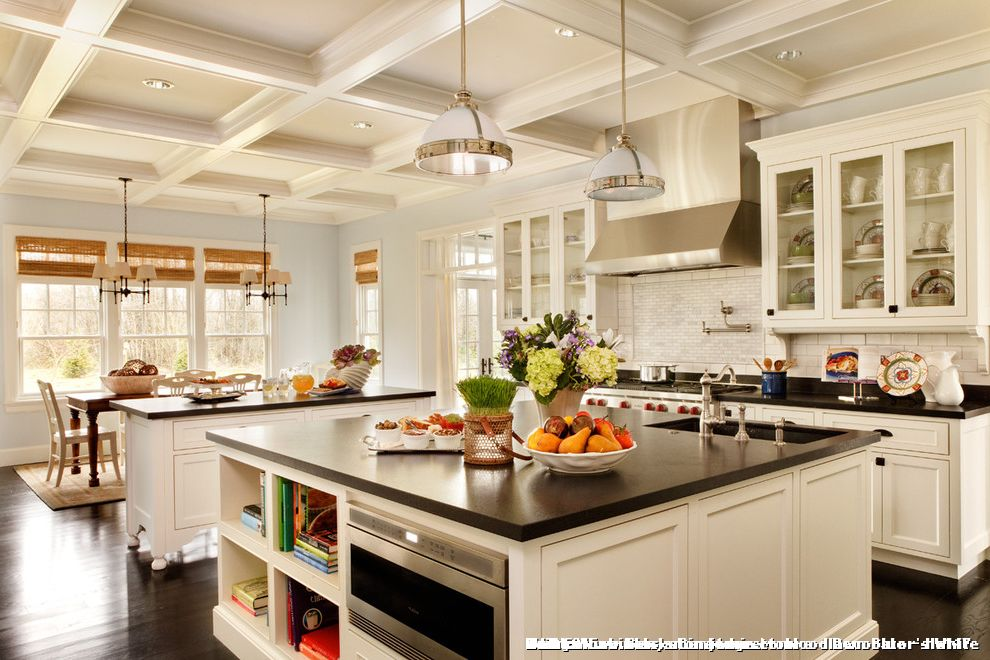 Kitchens with 12 foot ceilings for traditional kitchen and for 9 ft kitchen ideas
