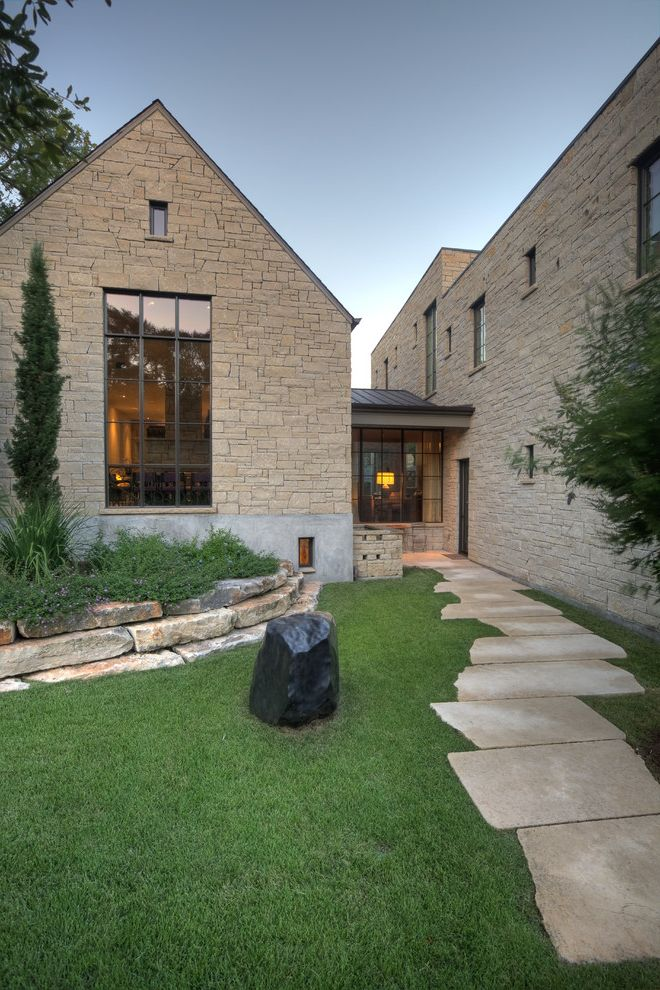 Modern Stone Veneer  for Traditional Exterior and Stacked Stone Wall
