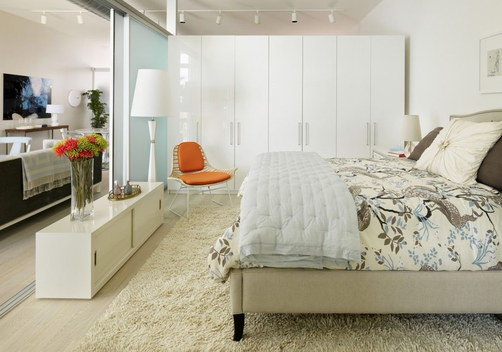 Pax Wardrobe in Living Room for Scandinavian Bedroom and ...