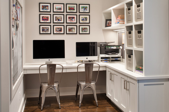18x24 Frame Home Office Transitional with Bulletin Board Framed Photos