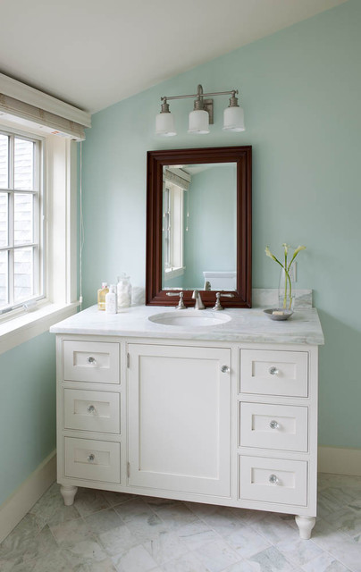 42 Inch Bathroom Vanity Bathroom Beach with Beach House Contemporary Cottage