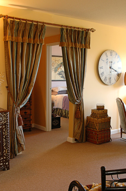 Aaw Doors Living Room Traditional with Curtain Rod Curtains Drapes