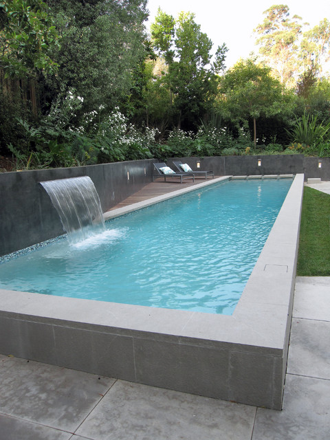 Above Ground Pool Deck Plans Pool Modern with Backyard Concrete Pool Deck