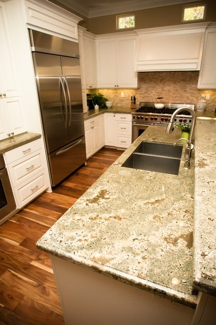 acacia wood flooring Kitchen Traditional with CategoryKitchenStyleTraditionalLocationOrange County