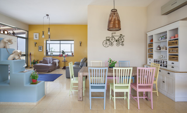 Accent Chairs with Arms Dining Room Mediterranean with Bicycle Art Bird Cage