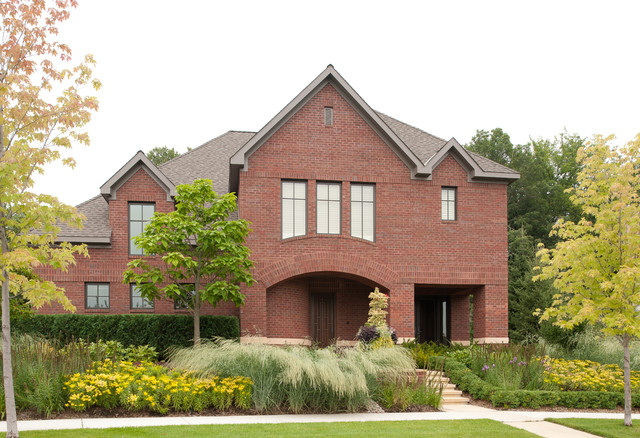acme brick Exterior Traditional with acme arched window archway