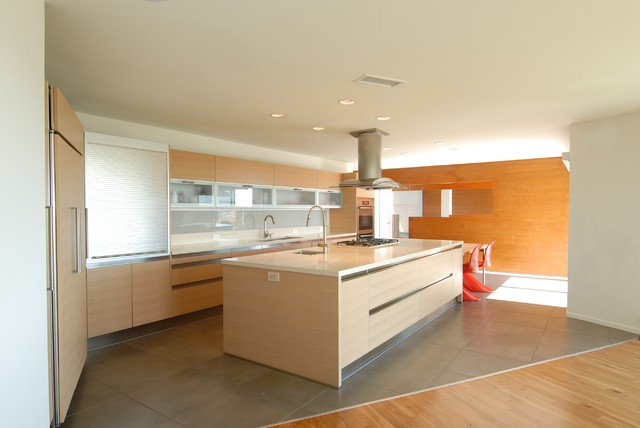 Adura Flooring Kitchen Modern with Frosted Glass Glass Backsplash