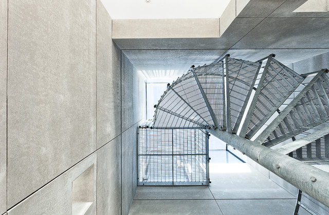 Alphera Financial Services Staircase Contemporary with Ar Andy Ramus Lighthouse