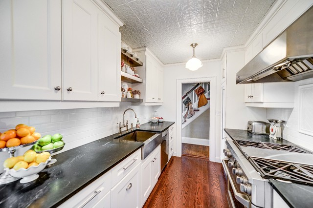 American Tin Ceilings Kitchen Traditional with Additions Architect Bravehart Building