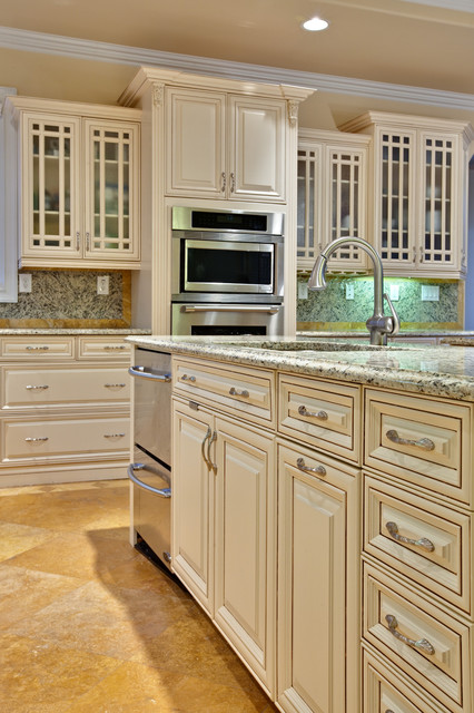 Amerock Hardware Kitchen Traditional with Ceiling Lighting Glass Front
