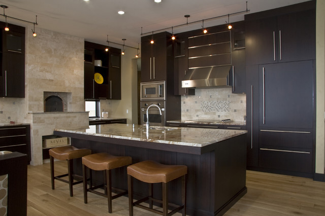 Appliance Discounters Kitchen Contemporary with Breakfast Bar Cabinet Front