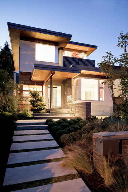 Architectural Mailboxes Exterior Contemporary with Entrance Entry Front Door