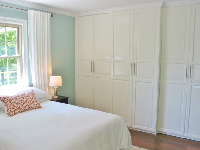 Armoire Ikea Bedroom Traditional with 70s Ranch Area Rug