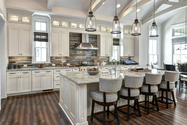 arthur rutenberg homes Kitchen Traditional with cathedral ceiling clerestory cabinets
