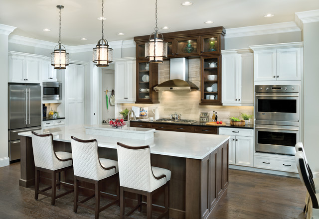 Arthur Rutenberg Homes Kitchen Transitional with Black Countertop Double Wall