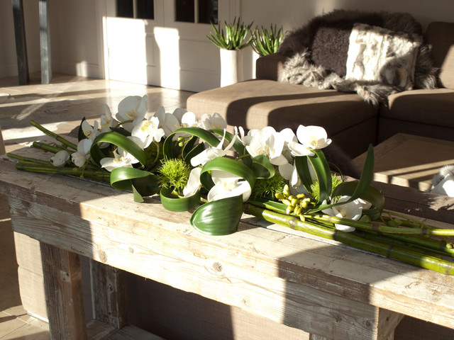 Artificial Orchids Dining Room Contemporary with Artficial Flowers Artificial Flower