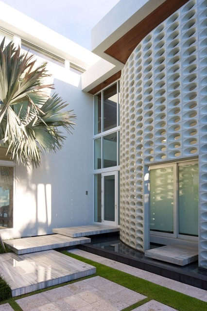 Artistic Pavers Entry Contemporary with Bart Reines Construction Breeze