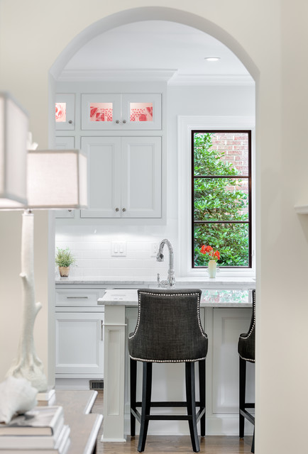 Ashley Furniture Bar Stools Kitchen Traditional with Arched Doorway Black And